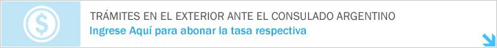 Trámites en el Exterior ante el Consulado Argentino