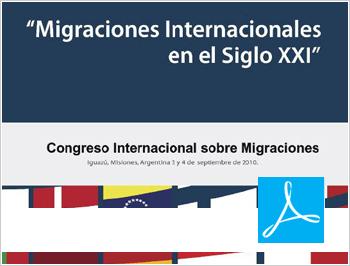 Migraciones Internacionales en el Siglo XXI